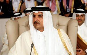 امیر قطر پس از بازگشت از تهران: با روحانی درباره کاهش تنش رایزنی کردم/ گفتوگو تنها راه حل بحرانهاست