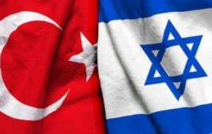 میدل ایست آی: اسرائیل به دنبال روابط دیپلماتیک کامل با ترکیه است