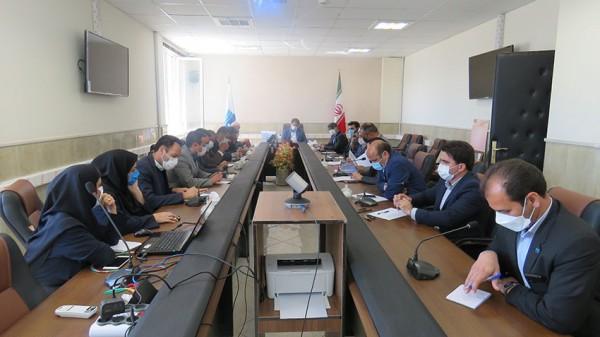 جلسه شورای معاونین و مدیران شرکت آب منطقه ای استان برگزار شد