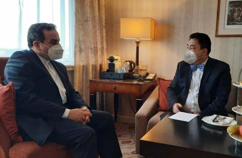 رایزنی رئیس هیات چین در کمیسیون مشترک برجام با عراقچی در وین