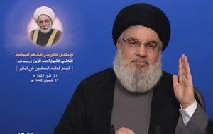 سیدحسن نصرالله: تاکید آمریکا بر دیپلماسی با تهران به دلیل قدرت رو به رشد ایران است/ هر کسی که انصاف داشته باشد باید در کنار ایران بایستد