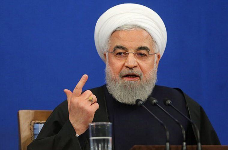 روحانی: برای نخستین بار در تاریخ ایران، غنی سازی ۶۳درصدی انجام دادیم