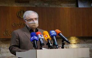 وزیر بهداشت: واکسیناسیون روزانه کشور از مرز ۴۰۰ هزار دوز گذشت