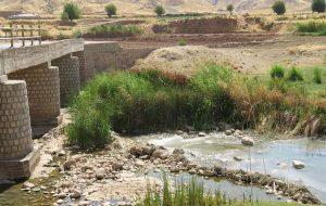 بازدید مدیر عامل شرکت آب منطقه ای از رودخانه چرداول