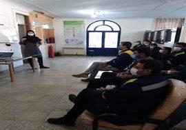 رئیس HSE شرکت گاز استان ایلام خبر داد: برگزاری کارگاه صدا و ارتعاش و حفاظت شنوایی در شرکت گاز استان ایلام